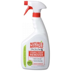 Nature's Miracle Just for Cats Stain & Odor Remover (32 oz - Spray)