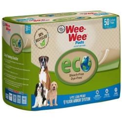 """Four Paws Wee-Wee Pads - Eco (50 Pack - [22""""L x 23""""W])"""
