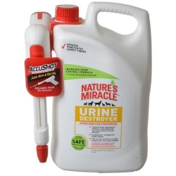 Nature's Miracle Urine Destroyer (1.33 Gallon AccuShot Power Spray Bottle)