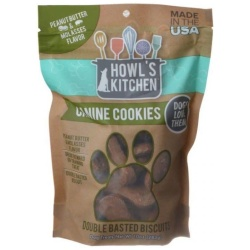 76490 250x250 - Howl's Kitchen Canine Cookies Double Basted Biscuits - Peanut Butter & Molasses Flavor (10 oz)
