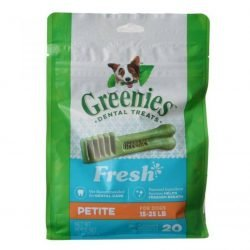 Greenies Fresh Dental Treats for Dogs (Petite - 20 Pack - [Dogs 15-25 lbs])