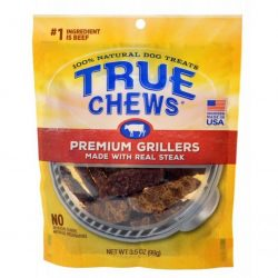 True Chews Premium Grillers with Real Steak (3.5 oz)