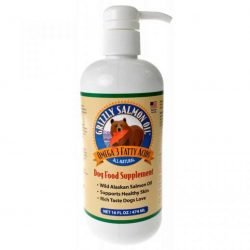 80597 250x250 - Grizzly Salmon Oil Omega-3 Dog Food Supplement (16 oz)
