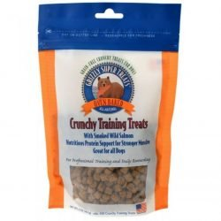 80633 250x250 - Grizzly Super Treats Oven-Baked Crunchy Training Treats with Smoked Salmon (5 oz)