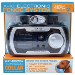 High Tech Pet X-10 Electronic Fence System (1 Count)