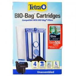 Tetra Bio-Bag Cartridges with StayClean - Large (4 Count)