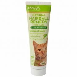 81387 250x250 - Tomlyn Laxatone Natural Hairball Remedy Gel for Cats - Chicken Flavor (4.25 oz)