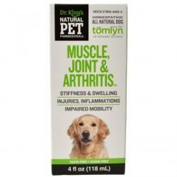 81393 250x250 - Tomlyn Natural Pet Pharmaceuticals Muscle, Joint & Arthritis Dog Remedy (4 oz)
