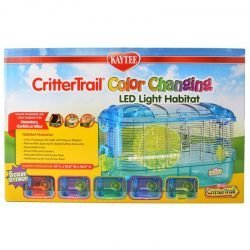 Kaytee Crittertrail Color Changing LED Light Habitat (1 Count)