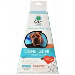 "82469 250x250 - Calm Paws Caring Collar with Calming Gel Patch for Dogs (Large - 1 Count - [Neck: 13""-17""])"
