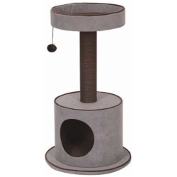 82709 250x250 - Pet Pals Steppe Cat Tree with Condo (1 Count)