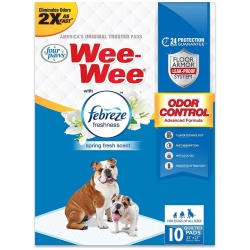 Four Paws Wee-Wee Pads - Febreze Freshness (10 Count)