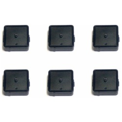 High Tech Pet Humane Contain Electronic Fence Collar Battery (6 Pack)