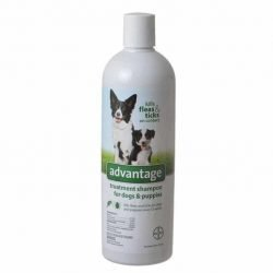 85205 250x250 - Advantage Flea & Tick Treatment Shampoo for Dogs & Puppies (24 oz)