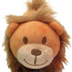 "Li'l Pals Ultra Soft Plush Lion Squeaker Toy (1 count [4.5""L])"