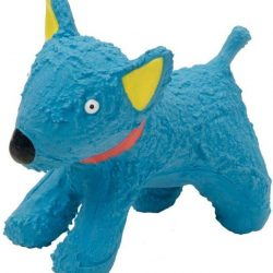"L`il Pals Latex Blue Dog Toy (1 count [4.3""L])"
