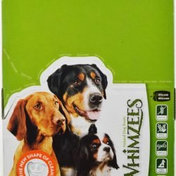 Whimzees Brusheezs Natural Dental Chews for dogs (25 count)