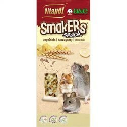 A&E Cage Company Smakers Cheese Sticks for Mice and Rats (2 count)