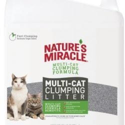 Natures Miracle Multi-Cat Clumping Clay Litter (20 lbs)