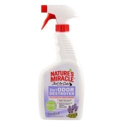 57505855 250x250 - Nature's Miracle Just for Cats 3in1 Odor Destroyer Lavender 24oz